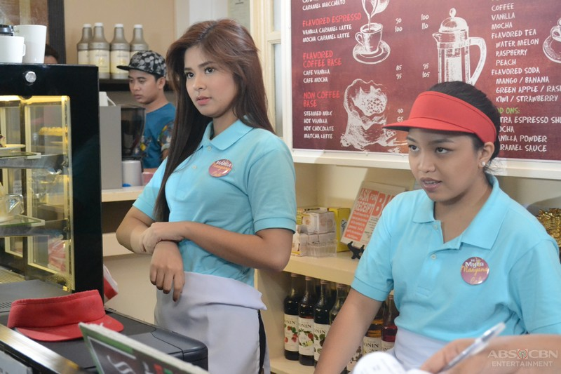 On the set of Be My Lady: Abangan si Loisa bilang Margaret
