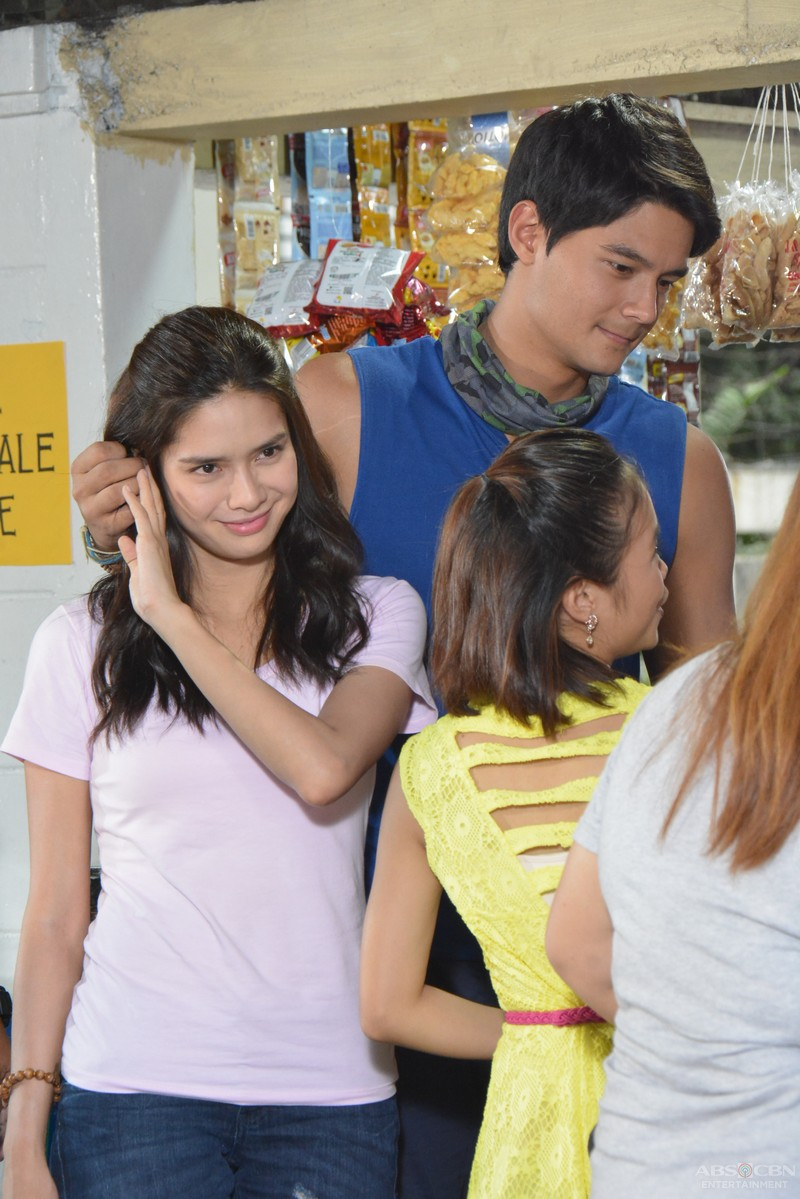 On the set of Be My Lady: Pinang and Phil together in Manila
