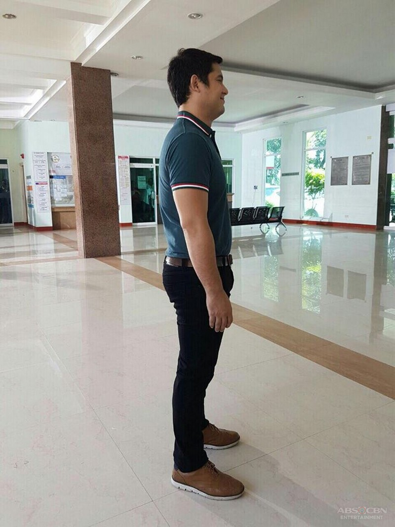 On the Set of Be My Lady: Geoff Eigenmann first taping day