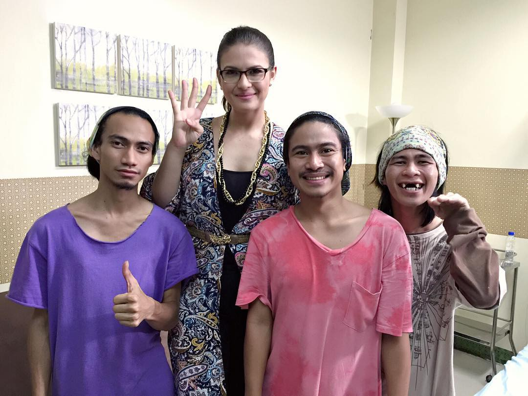 On the set of Be My Lady: Priscilla Meirelles' bonding moments with DanRich