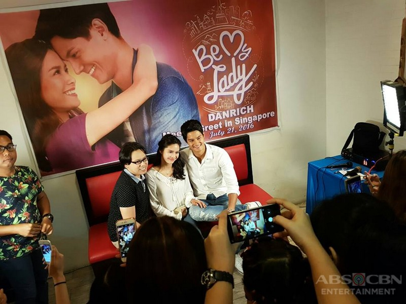 Meet And Greet with Be My Lady Stars Daniel And Erich in Singapore
