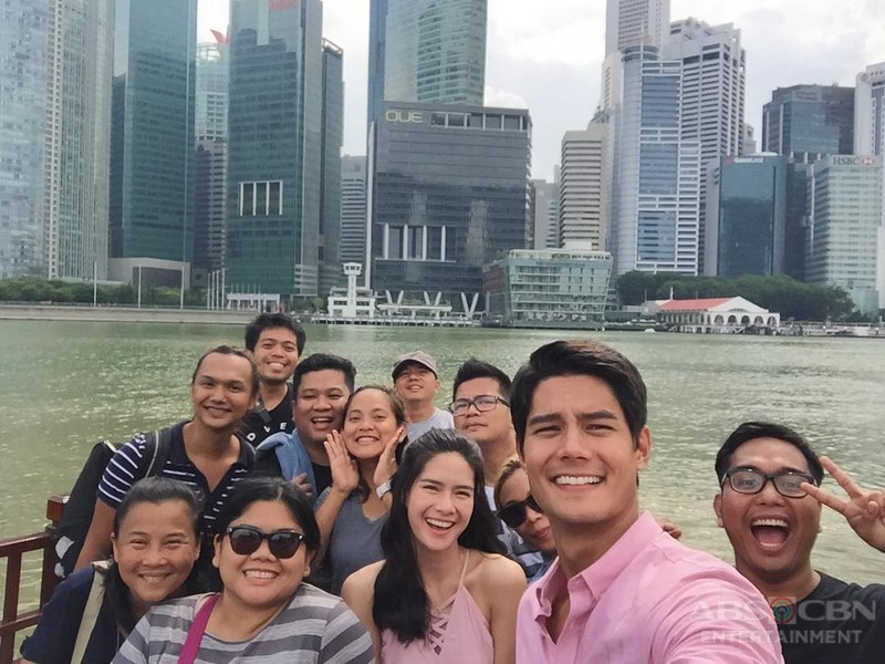 BEHIND-THE-SCENES: Phil and Pinang invade Singapore