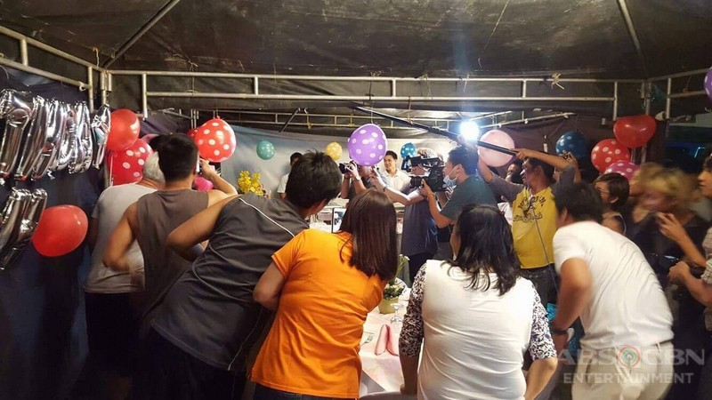 On-The-Set: Erich's surprise birthday party