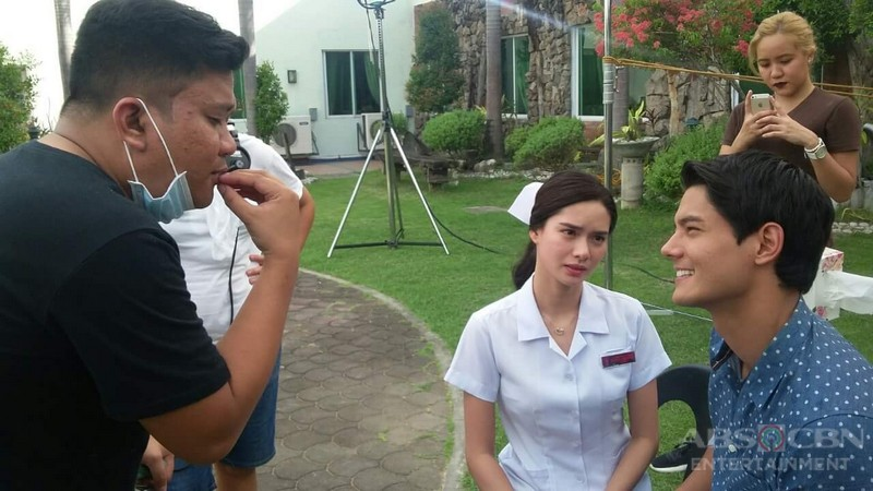 Behind-The-Scenes: Phil and Pinang's First Kiss