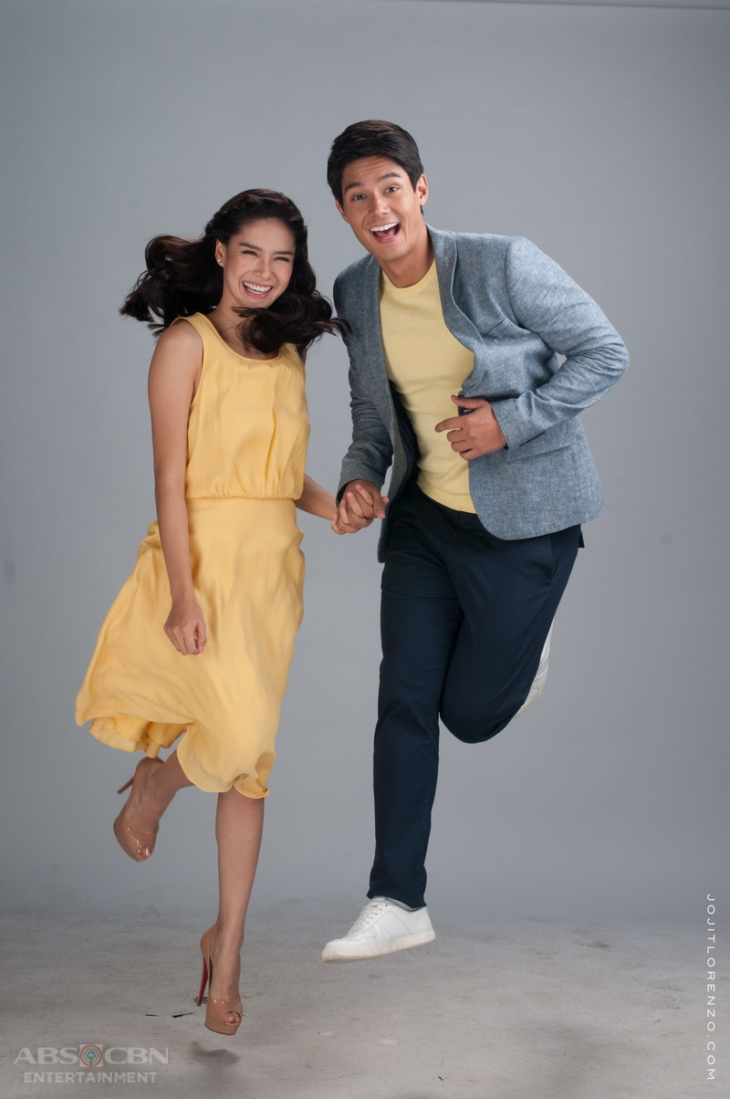 LOOK: Phil and Pinang  in Be My Lady's Cast Pictorial 2.0