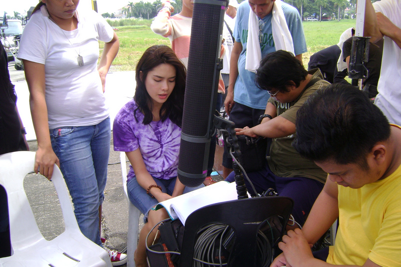 BEHIND-THE-SCENES: On the set of Be My Lady