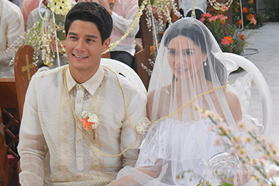 "Phil and Pinang's wedding airs tomorrow in ""Be My Lady"""