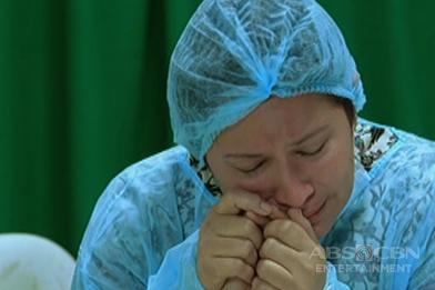Nanay Marcy, naiyak dahil sa kalagayan ng anak na si Pinang